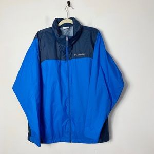 Columbia mens 100% nylon shell lightweight jacket
